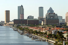 Tampa del centro Fotografia Stock