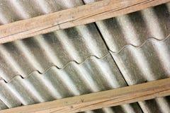 Tampa do asbesto Foto de Stock