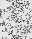 Tampa do decorataper floral Fotos de Stock Royalty Free