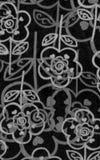 Tampa do decorataper floral Fotografia de Stock Royalty Free