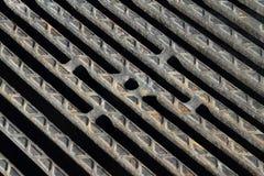 Tampa do ferro de molde Imagens de Stock