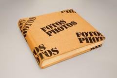 Tampa do álbum de fotografias Foto de Stock
