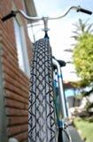 Tampa do pneumático da bicicleta Fotos de Stock Royalty Free