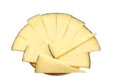 Tampa do queijo isolada Imagem de Stock
