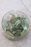 Tampa do vidro do laboratório de química Imagens de Stock Royalty Free