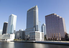 Tampa Downtown Royalty Free Stock Photos