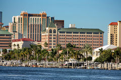 Tampa du centre Photo stock