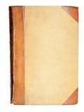 Tampa em branco do livro do 19o século Fotos de Stock Royalty Free