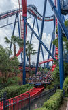 TAMPA, FLORIDA - MAY 05, 2015: Attractions in Busch Gardens Tampa Bay. Florida Royalty Free Stock Image