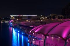 Tampa Florida Riverwalk. Downtown Tampa Florida at the Riverwalk Stock Photo
