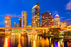 Tampa, Florida Skyline Stock Images