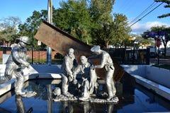 Tampa, Florida - USA - January 08, 2016 : 9/11 Memorial. Royalty Free Stock Photography