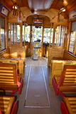 Tampa, Florida - USA - January 07, 2016 :  Streetcar Inside Royalty Free Stock Images