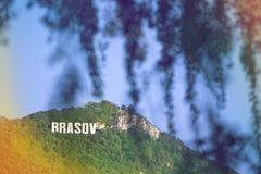Tampa góra Pisze list Brasov zdjęcia royalty free