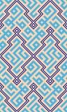 Tampa geométrica árabe Imagem de Stock Royalty Free
