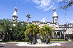 Tampa History. The historic building museum in Tampa city (Florida Stock Images