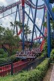 TAMPA, LA FLORIDA - 5 DE MAYO DE 2015: Atracciones en los jardines Tampa Bay de Busch florida fotografía de archivo libre de regalías