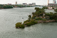 Tampa lighthouse Royalty Free Stock Photo