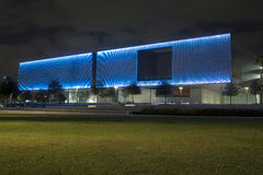 Tampa Museum of Art. At night Stock Photography
