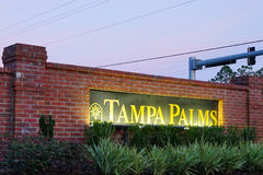 Tampa palms community Royalty Free Stock Images