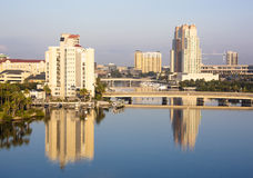 Tampa Reflections Royalty Free Stock Images