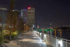 Tampa Riverwalk Photo libre de droits