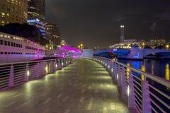 Tampa Riverwalk Stock Image