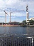Tampa Riverwalk Stock Photos