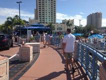 Tampa Riverwalk Royalty Free Stock Photo