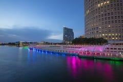 Tampa Riverwalk Stock Images