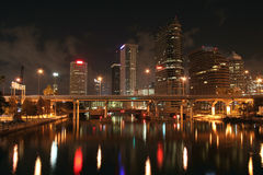 Tampa Skyline Stock Image