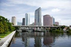 Tampa-Skyline Lizenzfreies Stockbild