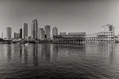 Tampa Skyline. November 30, 2014:  Tampa is a city in and the county seat of Hillsborough County, Florida, United States located on the west coast of Florida on Stock Image