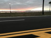 Tampa-Sonnenaufgang Lizenzfreie Stockfotos