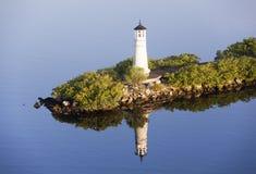 Tampa-Stadt-Leuchtturm Lizenzfreies Stockbild