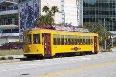 Tampa Streetcar Stock Image