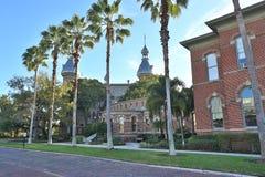 Tampa universitet- och Henry B växtmuseum Arkivbild