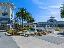 Tampa USA - Maj 10, 2018: Tampa det högvärdiga uttaget Arkivfoton
