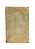 Tampa velha do livro em um fundo branco Imagens de Stock Royalty Free