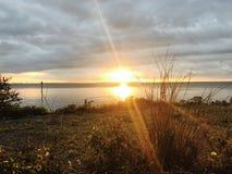 Tampa wschód słońca obrazy stock