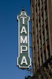 Tampa-Zeichen Stockfotos