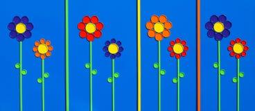 Tampas da flor fotografia de stock royalty free