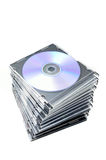 Tampas de DVD Foto de Stock Royalty Free