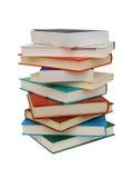 Tampas de livros isoladas imagens de stock royalty free
