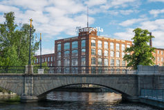 Tampella building in Tampere, Finland Stock Photos
