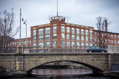 Tampella building in Tampere Finland Stock Photos
