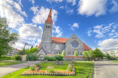 Tampere cathedral famous landmark in Finland.  Stock Images