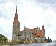 Tampere Cathedral in Tampere. Finland Royalty Free Stock Images