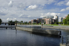 Tampere city Stock Photo