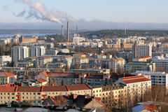 Tampere cityscape Royalty Free Stock Image